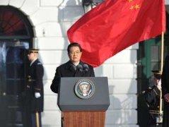 胡主席白宫致辞全文英汉
