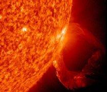 NASA太阳表面卫星照片