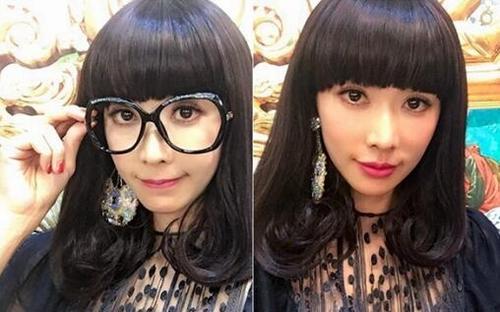 林志玲发型被吐槽