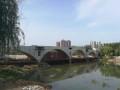 浉河步行桥预计8月底通行