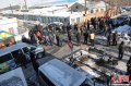 国内哈尔滨发生火车和汽车相撞事故(图
