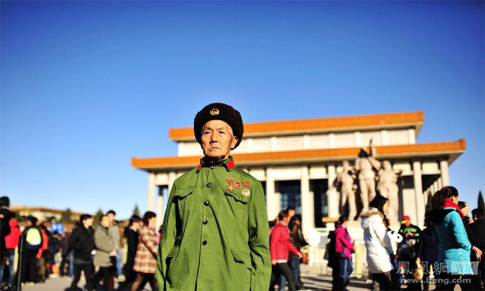毛泽东警卫员50年后再回北京 失声痛哭