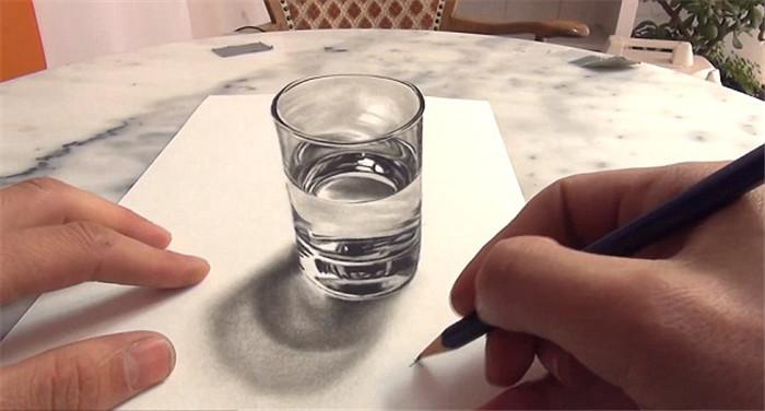 高清:俄艺术家用新颜料技术创作立体画