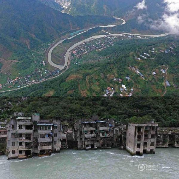 北川小坝乡海拔多少米