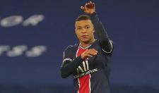 巴黎4-0大胜领跑,姆巴佩2球创纪录,新庆祝动作你打几分